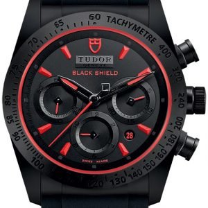 Tudor Fastrider Black Shield 42000cr-0001 Kello Musta / Kumi