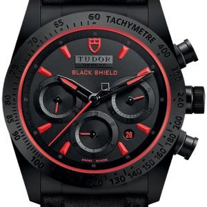 Tudor Fastrider Black Shield 42000cr-0002 Kello Musta / Nahka