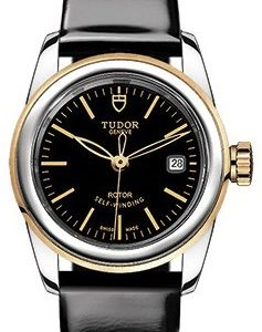 Tudor Glamour Date 51003-0024 Kello Musta / Nahka