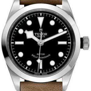 Tudor Heritage 79500-0008 Kello Musta / Nahka