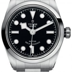 Tudor Heritage 79580-0001 Kello Musta / Teräs