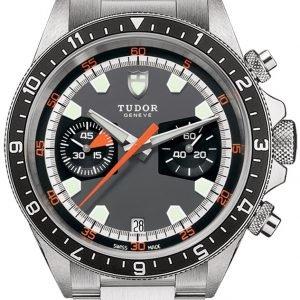 Tudor Heritage Chrono 70330n-0001 Kello Monivärinen / Teräs