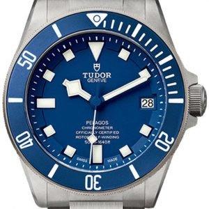 Tudor Pelagos 25600tb-0001 Kello Sininen / Titaani