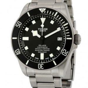 Tudor Pelagos 25600tn-0001 Kello Musta / Titaani