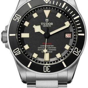 Tudor Pelagos 25610tnl-0001 Kello Musta / Titaani