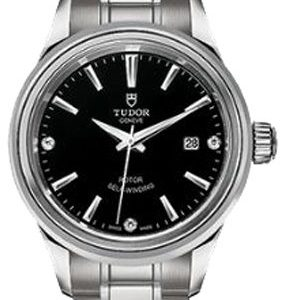 Tudor Style 12100-0004 Kello Musta / Teräs