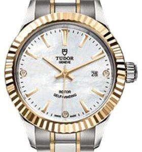 Tudor Style 12113-0017 Kello Valkoinen / 18k Keltakultaa