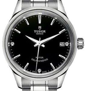 Tudor Style 12300-0004 Kello Musta / Teräs