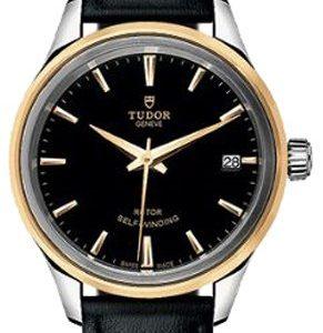 Tudor Style 12303-0009 Kello Musta / Nahka