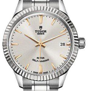 Tudor Style 12310-0005 Kello Hopea / Teräs