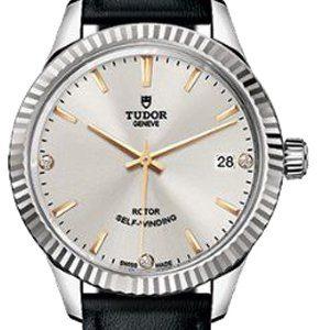 Tudor Style 12310-0026 Kello Hopea / Nahka