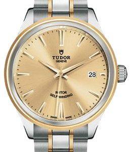Tudor Style 12503-0001 Kello Samppanja / 18k Keltakultaa