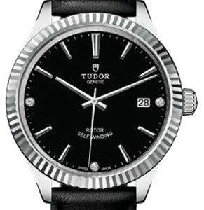 Tudor Style 12510-0026 Kello Musta / Nahka