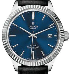 Tudor Style 12510-0027 Kello Sininen / Nahka