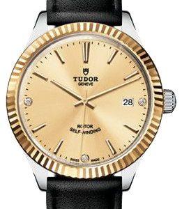 Tudor Style 12513-0020 Kello Samppanja / Nahka
