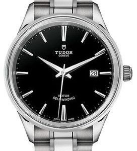 Tudor Style 12700-0002 Kello Musta / Teräs