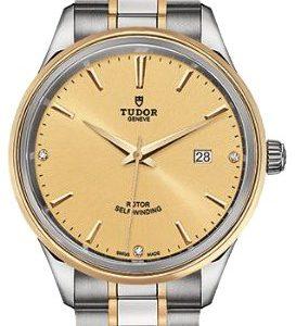 Tudor Style 12703-0004 Kello Samppanja / 18k Keltakultaa