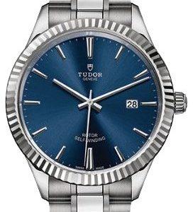 Tudor Style 12710-0013 Kello Sininen / Teräs