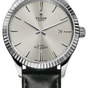Tudor Style 12710-0021 Kello Hopea / Nahka