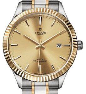 Tudor Style 12713-0001 Kello Samppanja / 18k Keltakultaa