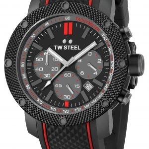 Tw Steel Tech Ts6 Kello Musta / Kumi
