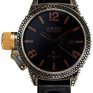 U-Boat Classico 8000 Kello Musta / Nahka
