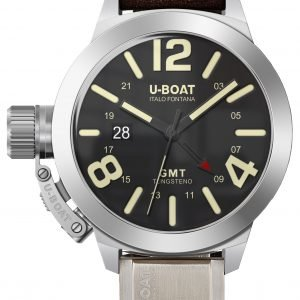U-Boat Classico 8050 Kello Musta / Nahka