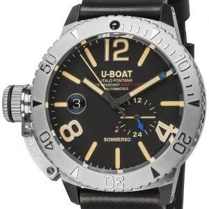 U-Boat Classico 9007/A Kello Musta / Kumi