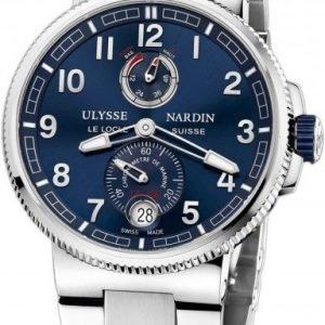 Ulysse Nardin Marine Collection Chronometer 1183-126-7m-63 Kello