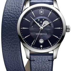Victorinox Alliance 241755 Kello Sininen / Nahka