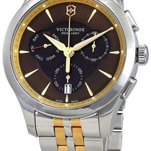 Victorinox Alliance 249116 Kello Ruskea / Kullansävytetty