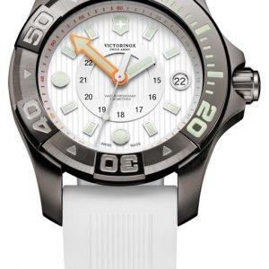 Victorinox Dive Master 241556 Kello Valkoinen / Kumi