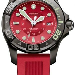 Victorinox Dive Master 241577 Kello Punainen / Kumi