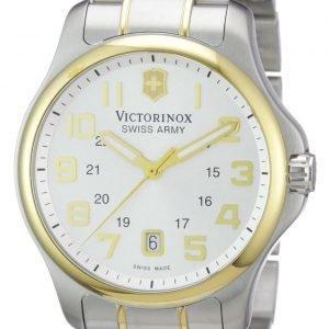 Victorinox Officers 241362 Kello Valkoinen / Kullansävytetty