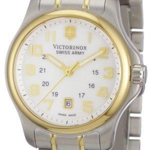 Victorinox Officers 241459 Kello Valkoinen / Kullansävytetty