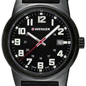 Wenger 01.0441.140 Kello Musta / Tekstiili