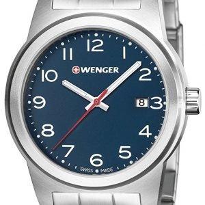 Wenger 01.0441.153 Kello Sininen / Teräs