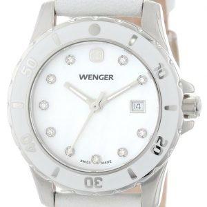 Wenger 70381 Kello Valkoinen / Nahka
