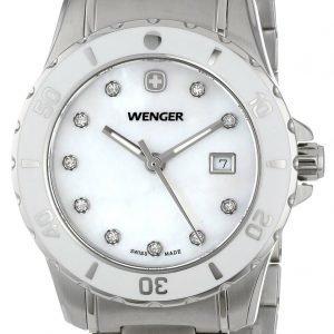 Wenger 70388 Kello Valkoinen / Teräs