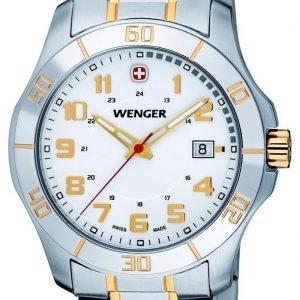 Wenger 70477 Kello Valkoinen / Kullansävytetty Teräs
