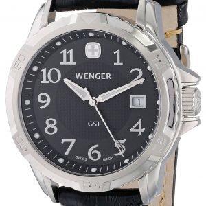 Wenger 78235 Kello Musta / Nahka