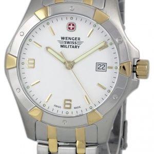Wenger 79237 Kello Valkoinen / Kullansävytetty Teräs