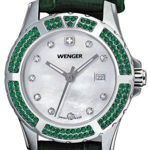 Wenger Elegance 70313 Kello Valkoinen / Nahka