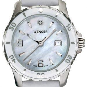 Wenger Elegance 70382 Kello Valkoinen / Nahka