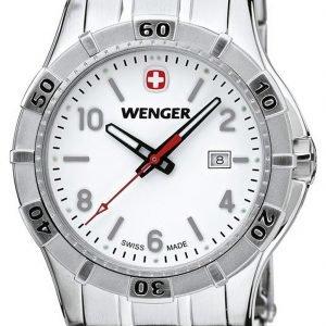 Wenger Platoon 0921.103 Kello Valkoinen / Teräs