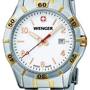 Wenger Platoon 0941.105 Kello Valkoinen / Kullansävytetty