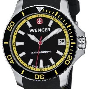Wenger Seaforce 01.0621.101 Kello Musta / Kumi