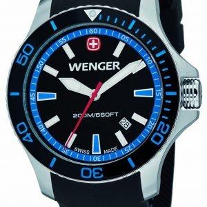 Wenger Seaforce 01.0641.104 Kello Musta / Kumi