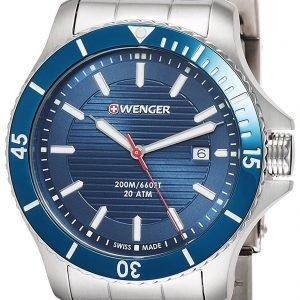 Wenger Seaforce 01.0641.120 Kello Sininen / Teräs