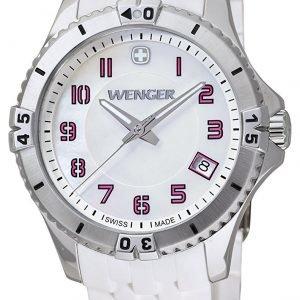 Wenger Squadron 01.0121.103 Kello Valkoinen / Kumi